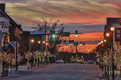 Photograph - Downtown Sunset by Jimmy McDonald