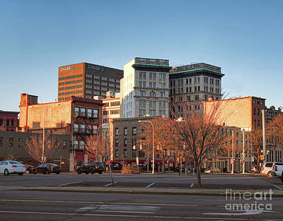 Photograph - Downtown Syracuse by Debra Millet