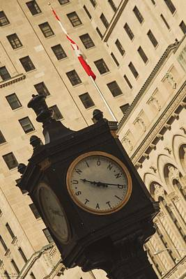 Photograph - Downtown Time  by Hany J