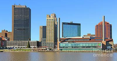 Photograph - Downtown Toledo  5141 by Jack Schultz