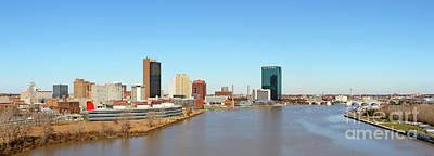 Photograph - Downtown Toledo Riverfront 5128 by Jack Schultz