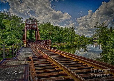 Photograph - Downtown Train Trestle In Rva by Melissa Messick