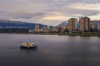 Photograph - Downtown Vancity by Adrian O Brien