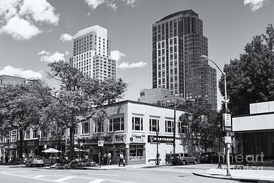 Photograph - Downtown White Plains New York Xii by Clarence Holmes