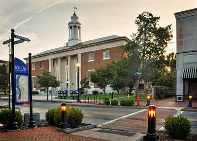 Photograph - Downtown Wilmington Post Office by Greg and Chrystal Mimbs