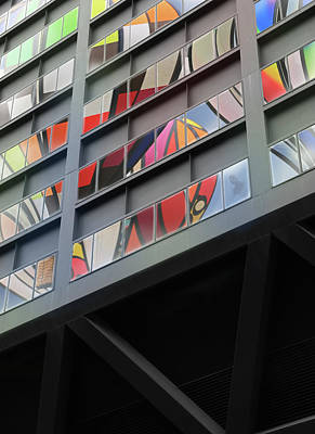 Photograph - Downtown Windows by Christopher McKenzie