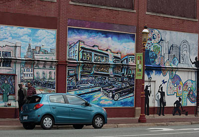 Photograph - Downtown Winston Salem Series II by Suzanne Gaff