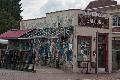 Photograph - Downtown Winston Salem Series - Silvermoon Saloon Vii by Suzanne Gaff