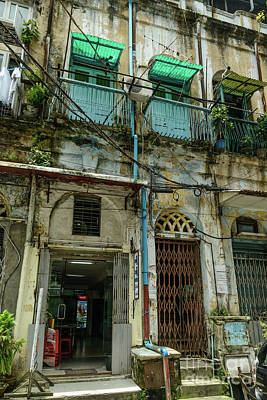 Photograph - Downtown Yangon 2 by Werner Padarin