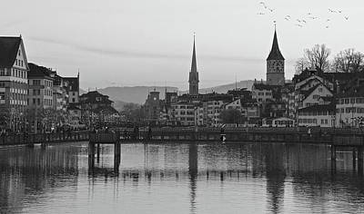 Photograph - Downtown Zurich by Matt MacMillan