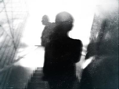 Photograph - Downwards by Siegfried Ferlin