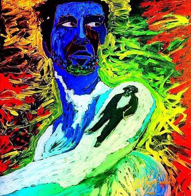 Painting - Doyle Bramhall  by Neal Barbosa