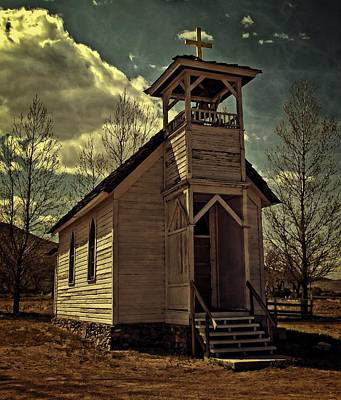 Photograph - Doyle Church by Thom Zehrfeld