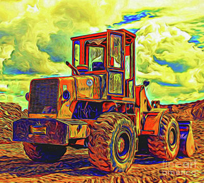 Photograph - Dozer 13818  by Ray Shrewsberry