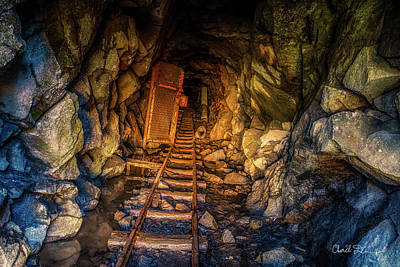 Photograph - Dp Gold Mine by Charlie Duncan