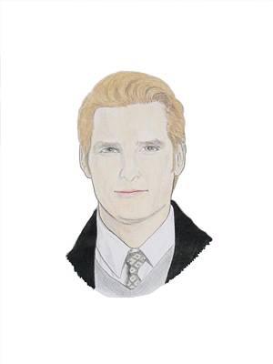 Peter Facinelli Drawing - Dr Carlisle Cullen - Peter Facinelli by Michael Dijamco