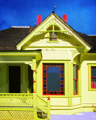 Csuf Photograph - Dr. Clark's House 2 by Timothy Bulone