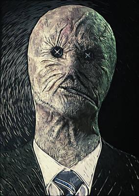 Surrealism Digital Art - Dr. Decker by Zapista OU