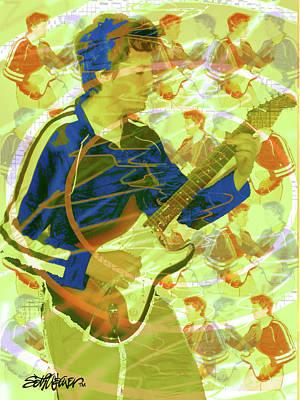 Dr. Guitar Art Print