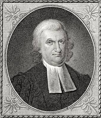 Dr John Witherspoon 1723 To 1794 Art Print