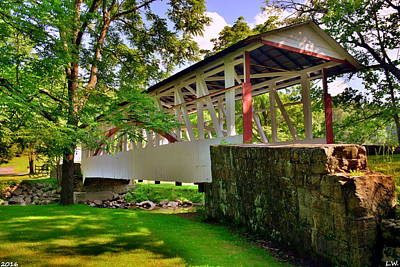 Photograph - Dr. Knisley Covered Bridge by Lisa Wooten