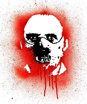 Anthony Hopkins Painting - Dr Lector by Ian King