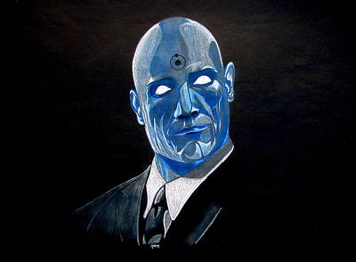 Viper Mixed Media - Dr. Manhattan  by Marcus Quinn