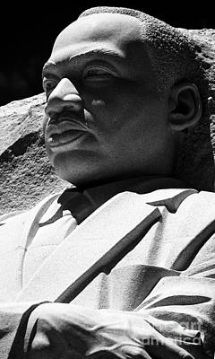 Photograph - Dr. Martin Luther King by David Bearden