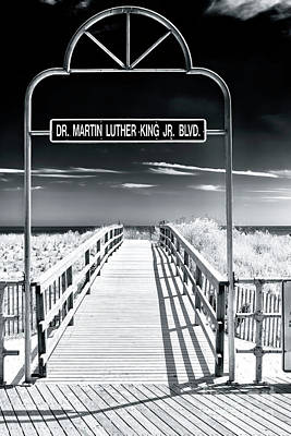 Photograph - Dr. Martin Luther King Jr. Boulevard Atlantic City by John Rizzuto