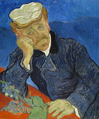 Dr Paul Gachet  Art Print by Vincent van Gogh