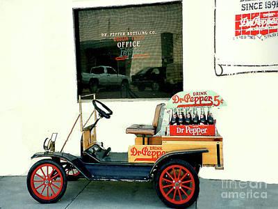 Photograph - Dr. Pepper Bottling Co. In Dublin Texas by Merton Allen