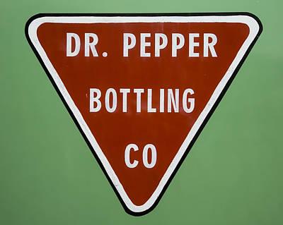Bottling Company Photograph - Dr Pepper Bottling by Stephen Stookey