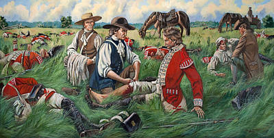 Dr. Read Tends To Wounded Grenadiers Original