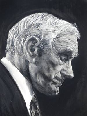 Dr. Ron Paul Art Print by Adrienne Martino