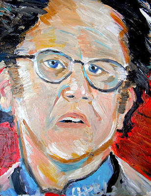 Awesome Show Painting - Dr. Steve Brule  by Jon Baldwin  Art