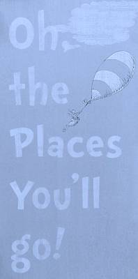 Photograph - Dr Suess' Places Cyan by Rob Hans