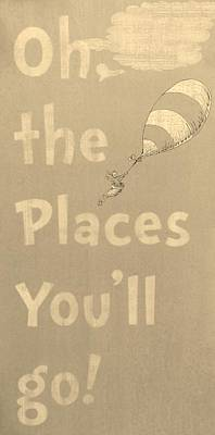 Photograph - Dr Suess' Places Sepia by Rob Hans