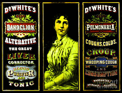 Painting - Dr Whites Tonic Curative by Unknown
