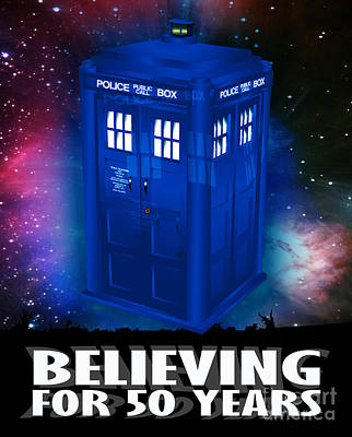 Saviour Digital Art - Dr Who Believing by Neil Finnemore