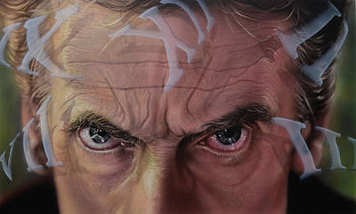 Painting - Dr. Who by Robert Haasdijk