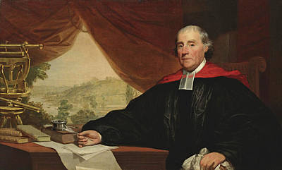 Painting - Dr. William Smith by Gilbert Stuart