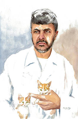 Painting - Dr Yoossef by Mimi Boothby