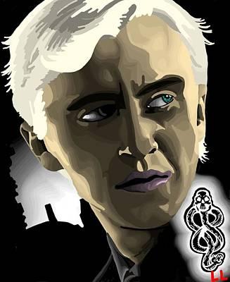 Draco Art Print by Lisa Leeman