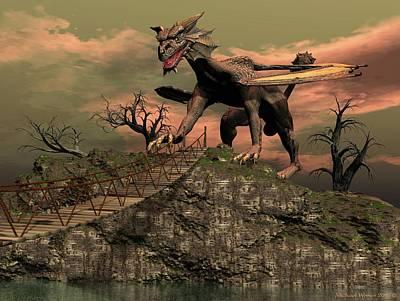 Draco Art Print