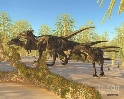 Hogwarts Digital Art - Dracorex by Corey Ford