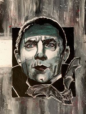 Painting - Dracula by Joel Tesch