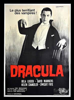 Dracula Digital Art - Dracula Le Plus Terrifiant Des Vampires by R Muirhead Art