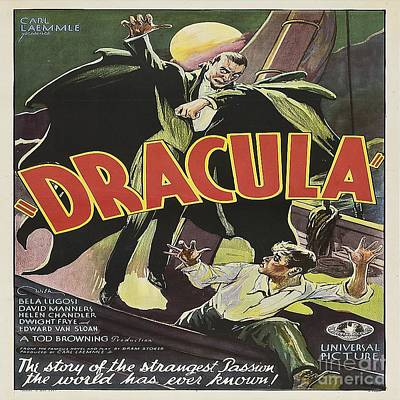 Dracula Digital Art - Dracula Movie Poster by Spencer McKain