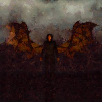 Fantasy Royalty-Free and Rights-Managed Images - Dracula by Esoterica Art Agency