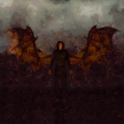 Dracula Painting - Dracula by Esoterica Art Agency
